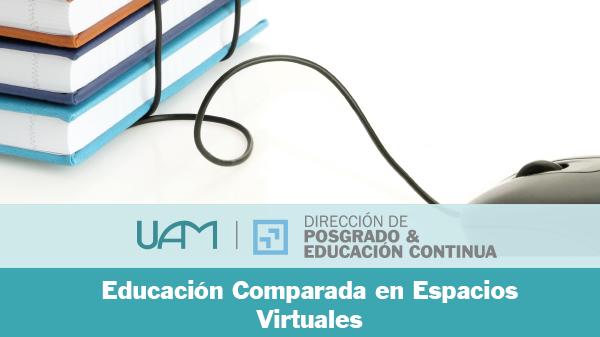 Educación Comparada en Espacios Virtuales