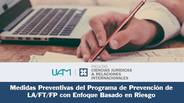 Medidas preventivas del Programa de prevención de LA/FT/FP con enfoque basado en Riesgo