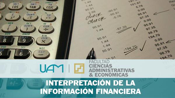 INTERPRETACIÓN DE LA INFORMACIÓN FINANCIERA